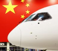 Chinese Made Passenger Jet